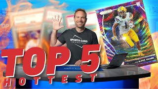 Top 5 HOTTEST Sp๐rts Cards📈