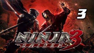 Ninja Gaiden 3 Walkthrough - Part 3 [Day 1 London UK] Infected PS3 XBOX  (Gameplay / Commentary)