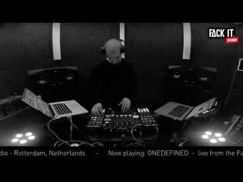 FACK IT PODCAST #11 // ONEDEFINED [TECHNO]
