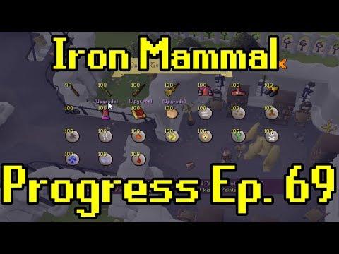 Oldschool Runescape - 2007 Iron Man Progress Ep. 69 | Iron Mammal