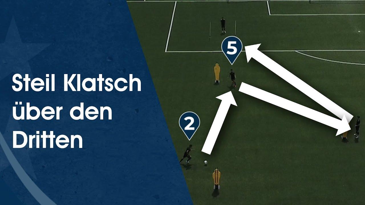 Steil Klatsch über den Dritten – Fußballtraining am Deutschen Fußball Internat