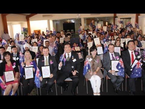 2013-08-10 Australian Citizenship Ceremony hosted by WAMCI