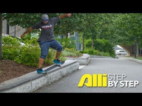 How To 360 Flip, Tyler Hendley, Alli Sports Skateboard ...