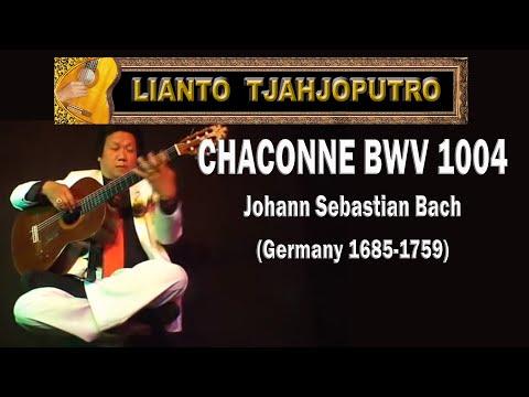 Lianto Tjahjoputro - CHACONNE Seven Angels BWV 1004 - Johann Sebastian Bach