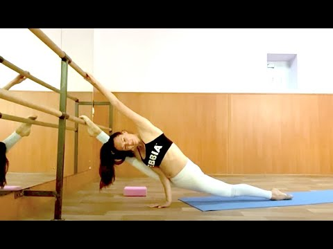 splits stretch routine  flexibility training contortion