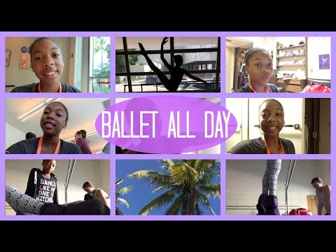 Day #20 Miami City Ballet Summer Intensive: Ballet All Day | Life As Gabi♡♡♡