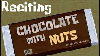 Reciting SpongeBob Episodes: Chocolate With Nuts