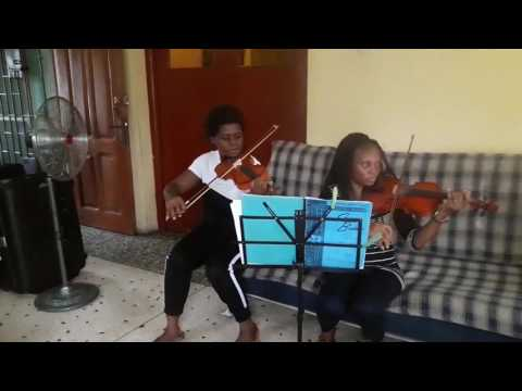 Engaging Adult Violin Class at Lee Ellie Music School, Lagos-Nigeria.