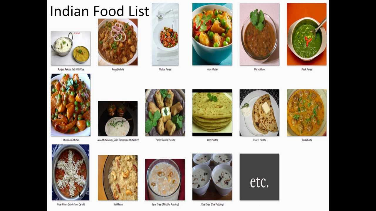 Indian food listlist of indian snack foodslist of indian dishes indian food listlist of indian snack foodslist of indian dishes youtube forumfinder Images