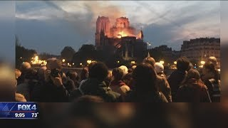 North Texans reflect about Notre Dame Cathedral