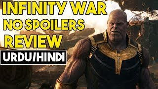 [Urdu/Hindi] Avengers Infinity War Movie Review [No Spoilers]