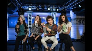 We Gave Greta Van Fleet Socks for Their Greta Van FEET [EXCLUSIVE]
