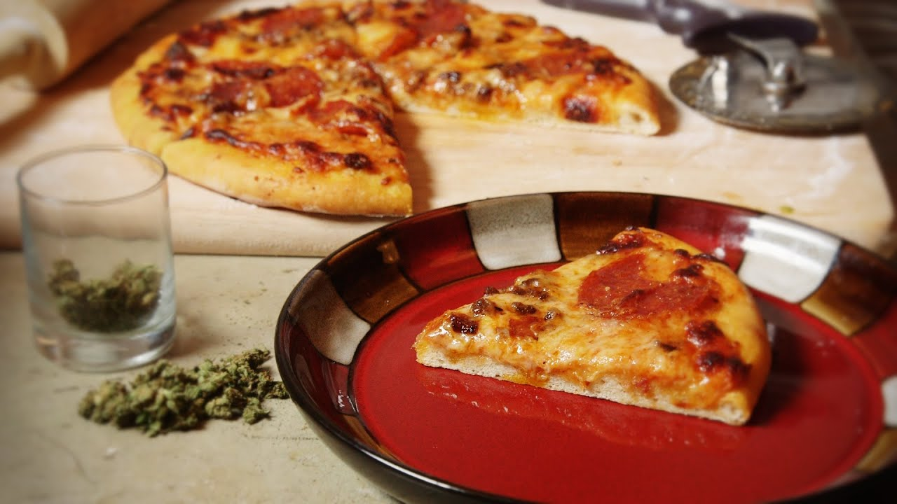 Marijuana Pizza with Cannabis Olive Oil Infusion Cooking with Marijuana #23