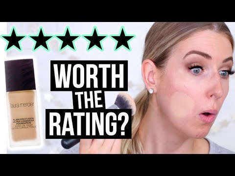 5 STAR $60 Laura Mercier Flawless Foundation TESTED || Worth the Rating??