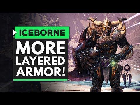Monster Hunter World Iceborne | MORE LAYERED ARMOR!