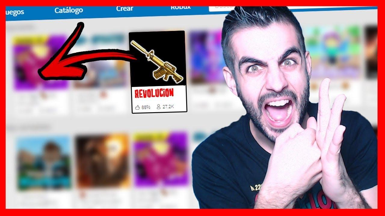 EL JUEGO QUE ESTA REVOLUCIONANDO Roblox - YouTube