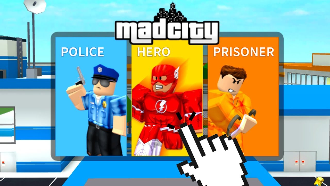 Roblox Character Mad Playing Jailbreak With Superheroes Roblox Mad City Youtube