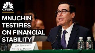 WATCH LIVE: Treasury Secretary Mnuchin testifies on promoting financial stability – 12/5/2019
