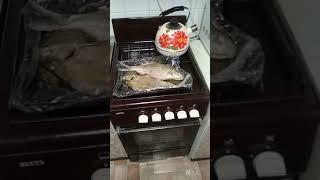 Лещ запечённый в духовке,вкусно