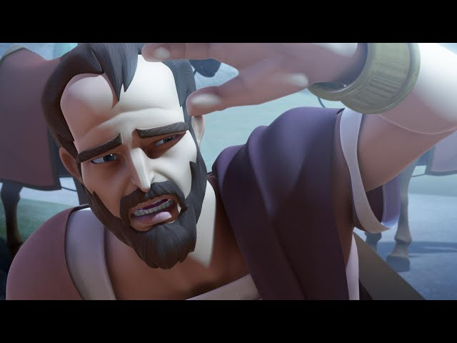 Superbook - A damaszkuszi út, amerikai animációs film magyar szinkronnal