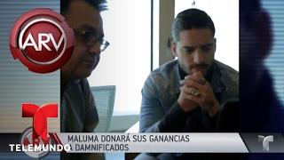 Maluma llega a Chile para Viña del Mar | Al Rojo Vivo | Telemundo