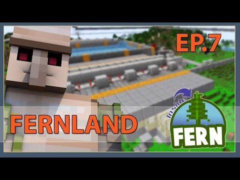 Fernland #07: Reasonable Iron Farm | Minecraft 1.11.2 | +Uma