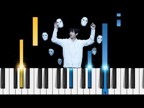 BTS 방탄소년단 - Singularity - Piano Tutorial LOVE YOURSELF 轉 Tear