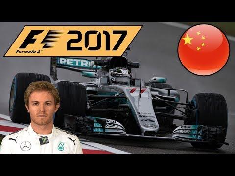 F1 2017 Nico Rosberg Career Mode Part 2: China