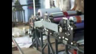 Dinning Table Paper Making Machine.mov
