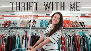 Gambar cover Thrift with me + try on haul