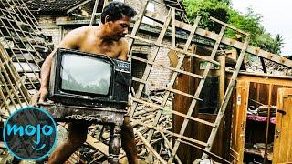 10 самых страшных стихийных бедствий 2000-х годов