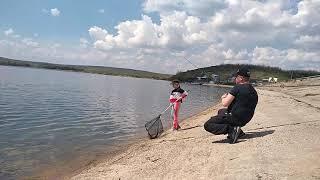 Рыбалка на Успенском водохранилище Луганская Область