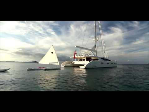 Catamaran / Sail Yacht Akasha 76ft, Luxury Crewed Yacht Charters in the BVI - Caribbean!
