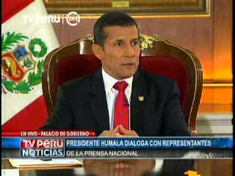 Entrevista a Ollanta Humala I