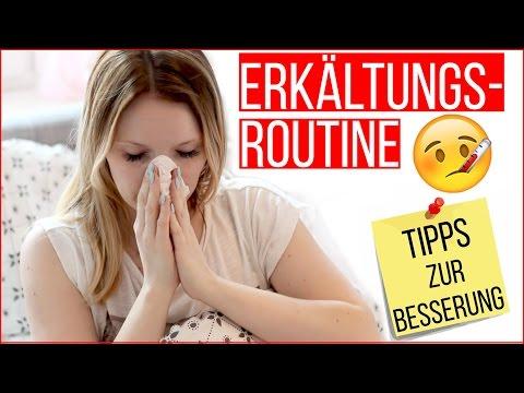 MEINE ERKÄLTUNGSROUTINE & TIPPS zur BESSERUNG - TheBeauty2go