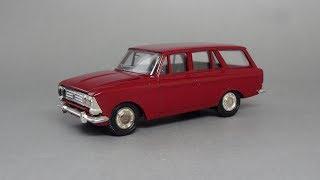 Москвич-426 Советский грузопассажирский автомобиль | Агат | обзор масштабной модели 1:43
