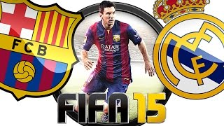 Fifa 15 Gameplay PC ● Barcelona vs Real Madrid 0-6 (Season/Stagioni) ● 60FPS 1080p