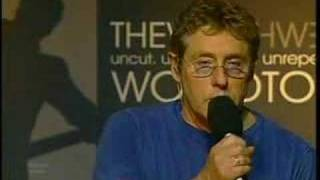 THE WHO CANCEL WEB PORTION OF TOUR