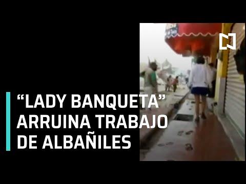 """""""Lady Banqueta"""" en Villahermosa Tabasco - Noticias Mx"""