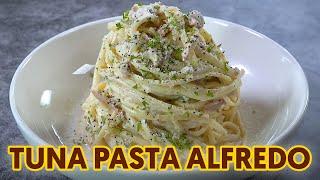 Tuna Pasta Alfredo