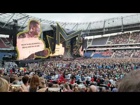 Robbie Williams Nation Anthem LIVE Germany Hannover 11.07.2017  HD
