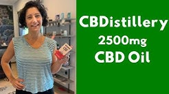 CBDistillery 2500 mg CBD Oil Review