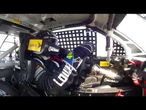 Jimmie Johnson, 2013 Party in the Poconos onboard, last 40 laps