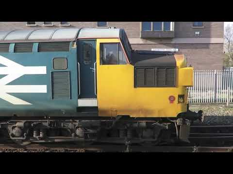 37025 Goes for More Fuel at Exeter.