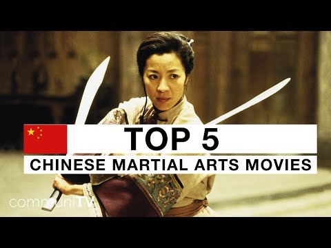 TOP 5: Chinese Martial Arts Movies [modern]