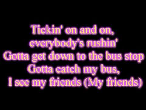 Rebecca Black - Friday with lyrics on screen