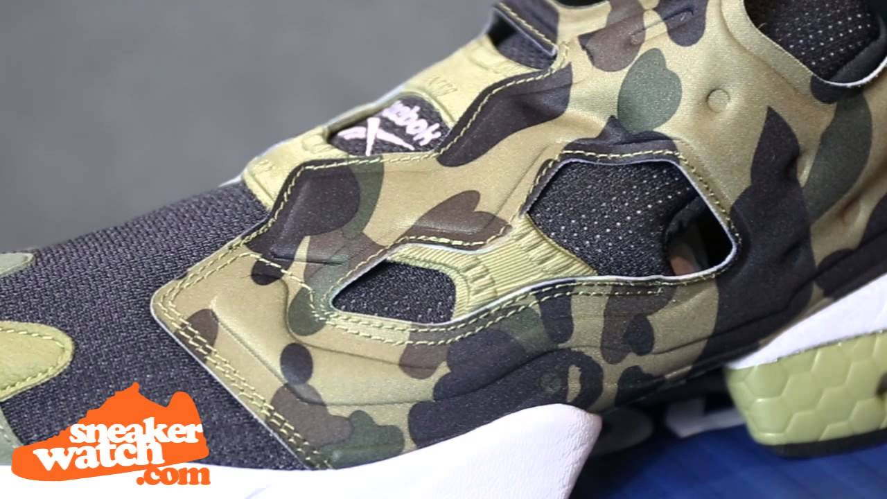 3c2ea555 Reebok X Bape X Mita In-Depth Video Review - YouTube