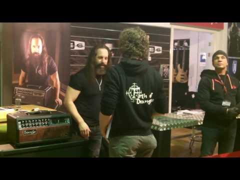 John Petrucci (Dream Theater) - JustMusic Hamburg Meet & Greet - 14.02.2017