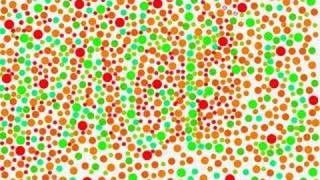 color blind visual eye test speed painting by m missfeldt