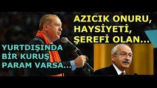 Erdoğan'dan Kılıçdaroğlu'nun İftirasına Tokat Gibi Cevap